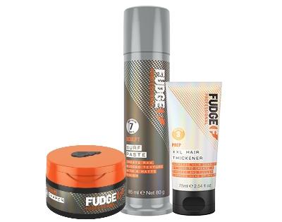 FREE Fudge Urban 3-piece hair styling bundle